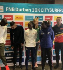 World, European, National under attack in FNB Durban 10k CitySurf Run
